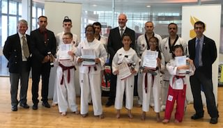 Dan Grading group photo July 1st 2018